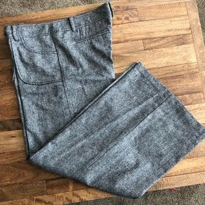 Urban Outfitters wool wide leg trousers size 13💕